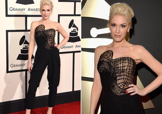 A 2015-ös Grammy-díjátadóra ebben az aszimmetrikus, fekete egyberuhában érkezett. Merész vonalai nagyon illettek a vagány énekesnőhöz.