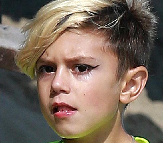 Gwen Stefani kisfia, Kingston most 7 éves, és úgy tűnik, inkább az édesanyját akarja utánozni, mintsem az apját.