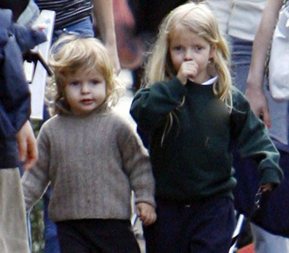 Két kisgyerek édesanyja: Apple Blythe Alison 2004 májusában, Moses Bruce Anthony pedig 2006 áprilisában látta meg a napvilágot.