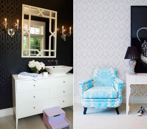 Gwyneth Paltrow egy magazinnak elárulta, hogy londoni lakásában hatalmas kád van a szoba közepén, nyári lakjában viszont visszafogottabb a fürdőszoba.