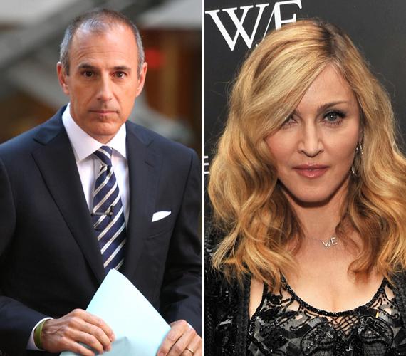 Az NBC csatorna képernyőse, Matt Lauer lett a hatodik, Madonna pedig a hetedik.