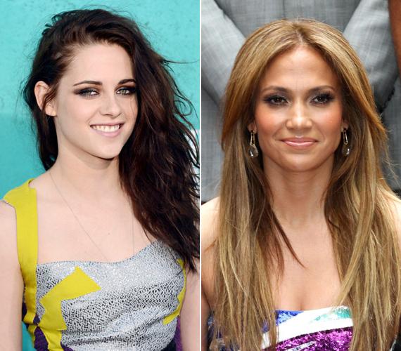 Íme, a dobogósok: második helyen végzett a Robert Pattinsont megcsaló fiatal csitri, Kristen Stewart és harmadik lett Jennifer Lopez.