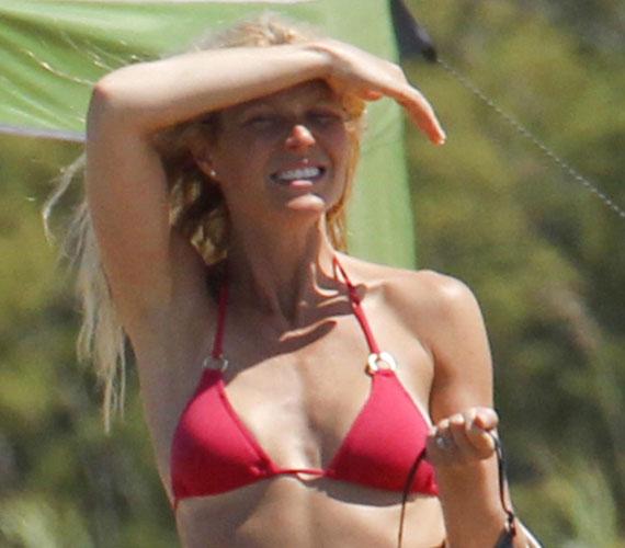 Gwyneth Paltrow közel a 40-hez is nádszálkarcsú, amit egészséges életmódjának és a rendszeres edzésnek köszönhet.