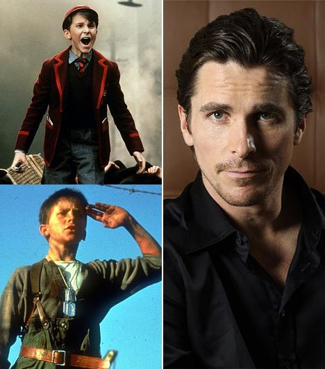 Christian Bale  Napjaink egyik legzseniálisabb karakterszínésze szintén gyerekként kezdte pályafutását, mégpedig Spielberg rendezésében, A nap birodalma című háborús drámában. Azóta az 1974-es sztárt láthattuk már Batmanként, pszichopata őrültként és John Connorként is, ráadásul mindenben meggyőző az alakítása.