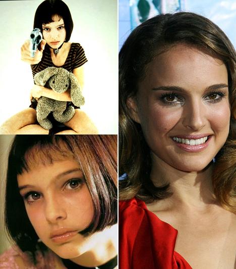 Natalie Portman  Natalie Portman mindössze 13 éves volt, amikor ráosztották Mathilda karakterét a Leon, a profi című moziban. Már akkor látszott, hogy igazi tehetség. Hozzáértését számtalan filmben bizonyította azóta, a 2004-es Közelebb-ben nyújtott alakításáért Oscarra is jelölték, a Fekete Hattyú főszerepéért pedig meg is kapta a díjat 2011-ben.