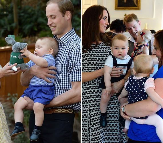 György herceg imádja a társaságot, ugyanúgy élvezettel játszik a plüssállatokkal, mint a vele korabeliekkel.