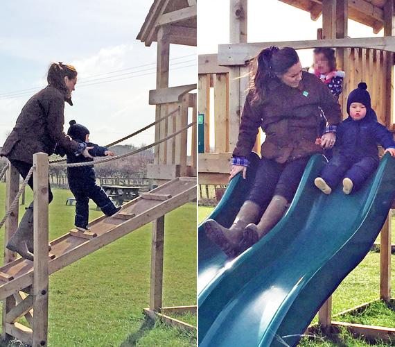 A 150 hektáron elterülő park és állatsimogató Anmer Hall közelében terül el, ahol a hercegi család vidéki háza is található a királynő birtokán. A park fából épített csúszdáját a kis György is örömmel próbálta ki.