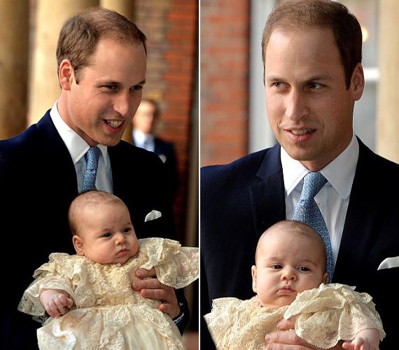 Vilmos herceg azt a kápolnát választotta gyermeke keresztelőjére, ahol édesanyja ravatalát tartották.