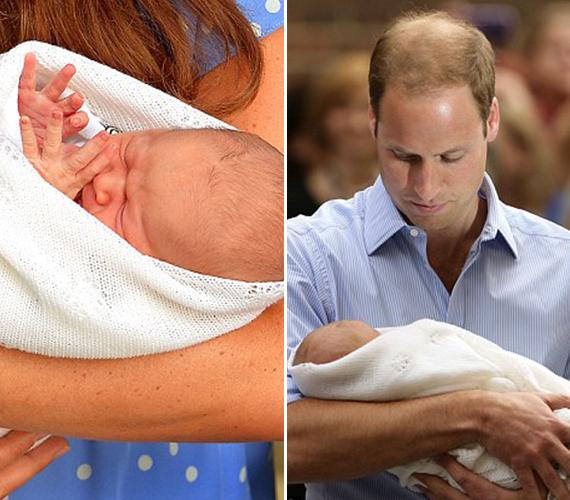 Hatalmas volt az öröm a királyi családban és egész Angliában, amikor 2 évvel ezelőtt megszületett az ország leendő királya, György herceg.