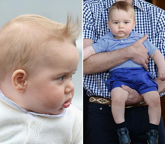 Már 4-5 hónapos korában látszott, hogy nagy csibész lesz, dundi pofija és a lázadó rockerekre emlékeztető frizurája legalábbis erre engedett következtetni.