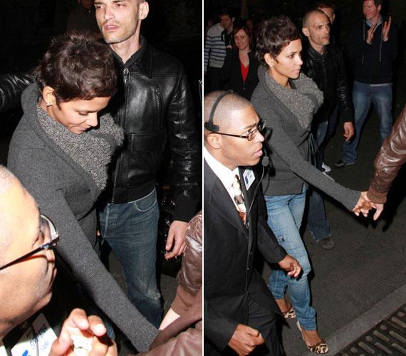 Joggal lehet rá büszke új szerelme, Olivier Martinez, akivel május végén egy Kylie Minogue-koncertre ment Los Angeles-ben.