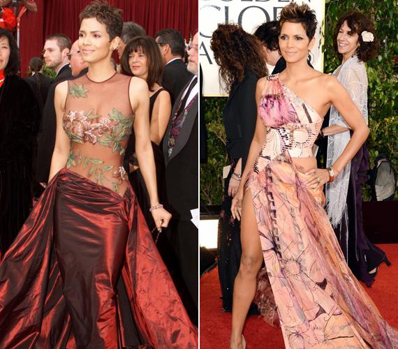 A 2002-es Oscar-gálás ruhája nagy vihart kavart, a mostani Golden Globe-os viszont mindenkit lenyűgözött.