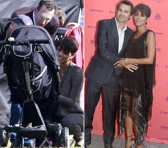 A pár júliusban házasodott össze Franciaországban, a ceremónián csak a szűk család és néhány barátjuk vett rész. 2010-ben találkoztak először közös filmjük, a Dark Tide forgatásán, nem sokkal az után, hogy a színésznő szakított modell kedvesével, Nahla édesapjával, Gabriel Aubryval.
