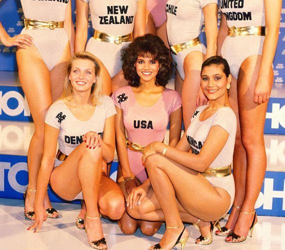 Halle Berry volt az első színesbőrű az amerikai indulók között, de csak a hatodik helyet tudta megszerezni.