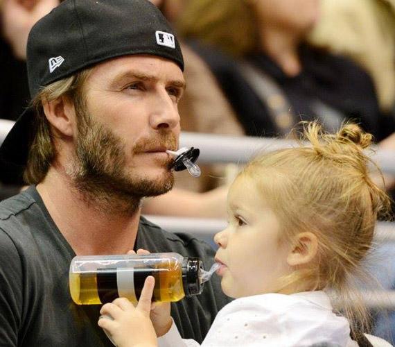 Ez az egyik legcukibb apja lánya fotó.