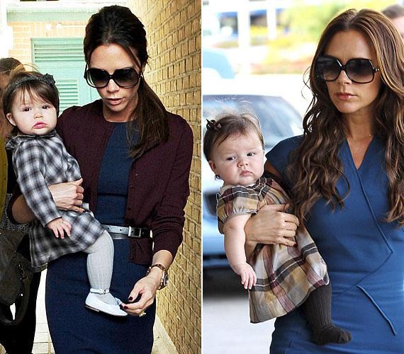 Victoria Beckham a fiai után végre kiélheti kislányán divatszenvedélyét: tündéri ruhákba öltözteti, nem csoda, ha az ő gyereke a legtrendibb.