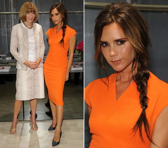 Legutóbb szeptember 6-án, a Vogue főszerkesztőjével, Anna Wintourral fotózták le, ekkor egyik élénk színű darabját viselte, ami jobban állt neki, mint a talpig fekete.