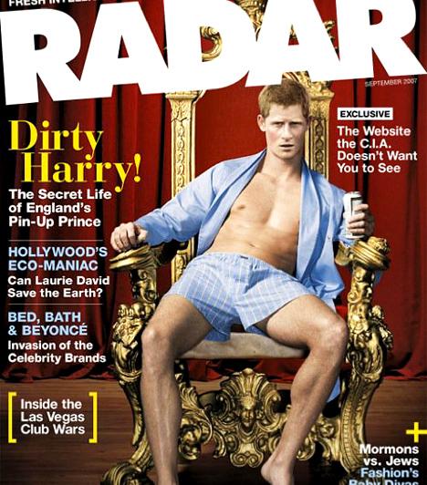 Egyre szexibb pasi  A Dirty Harry - vagyis Piszkos Harry - becenevet a sajtó ragasztotta rá, hiszen jóképű és jól nevelt bátyjával ellentétben több botrány, átmulatott éjszaka és féktelen bulizás is van a rovásán.
