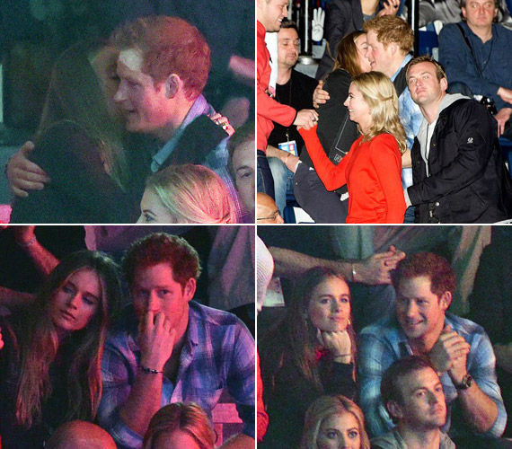Harry herceg és Cressida a nagy nyilvánosság ellenére is megölelték és puszival köszöntötték egymást. A rendezvény alatt meghitten sugdolóztak.