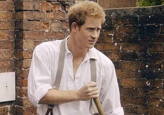 A videóban Harry herceg csendben szedegeti össze a lehullott leveleket. Hozza a formáját, ugyanolyan laza és nemtörődöm, mint általában.