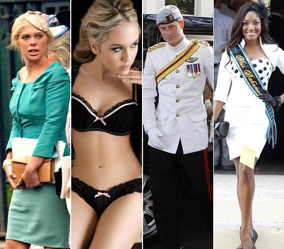 Harry herceg kedvére válogathat a gyönyörű nők közül: Chelsy Davy után a fehérneműmodell Florence Brudenell-Bruce-szal jött össze, de a szépséges Miss Bahamas is odáig van érte.