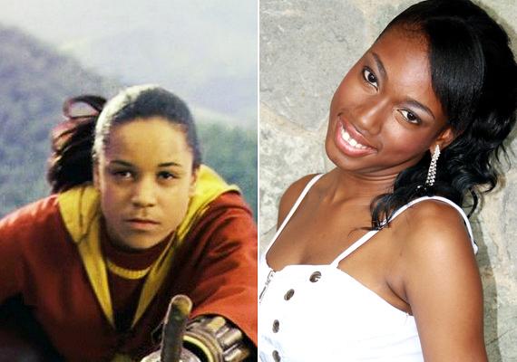 Danielle Tabor három Harry Potter-filmben szerepelt Angelina Johnson kviddicskapitányként, a negyedik rész előtt azonban új színésznőt kerestek a szerepre, mivel a lány még nem nézett ki 16 évesnek - Tiana Benjamin került a helyére. Nem adta fel színészi karrierjét, jelenleg angol sorozatokban szerepel.