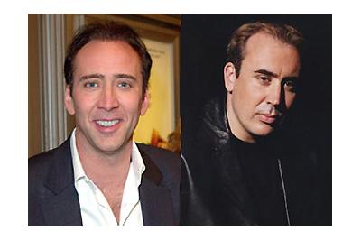 Nicolas Cage és hasonmása