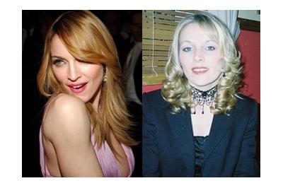 Madonna és hasonmása