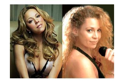 Mariah Carey és hasonmása