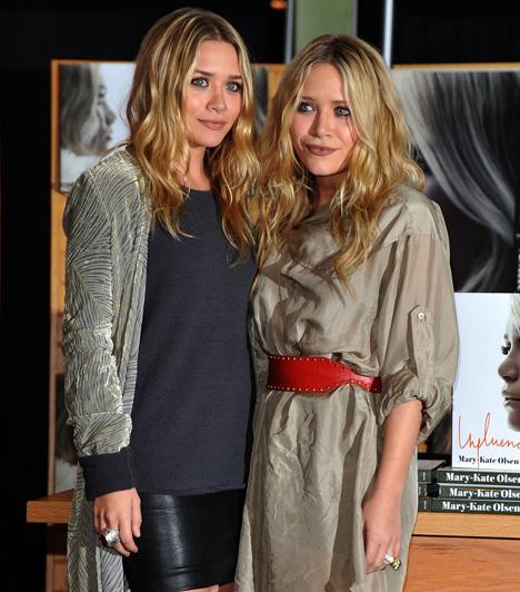 Ashley és Mary-Kate Olsen  A divattervezőként és színésznőként felemás sikerrel tevékenykedő Olsen-ikrek az évek múlásával mintha lecsillapodtak volna. A féktelen életvitelükről elhíresült egykori gyereksztárok kerülik a botrányokat, bár arra például nem derült fény, hogy Mary-Kate-nek pontosan mennyi köze is lehetett Heath Ledger halálához. Ilyen volt, ilyen lett: Ashley és Mary-Kate Olsen »