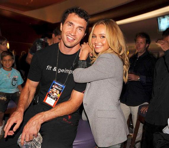 A 35 éves izomkolosszus és a filigrán amerikai szépség mindig is furcsa párnak tűntek, a rossznyelvek szerint Hayden csak a hírnév miatt jött össze a bokszolóval.