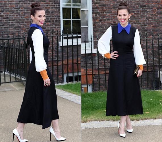 A sztárra általában a visszafogottabb öltözködés jellemző.