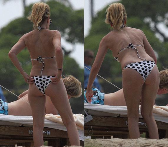 Heather Locklear kétségkívül 50 évesen is a strand királynője.
