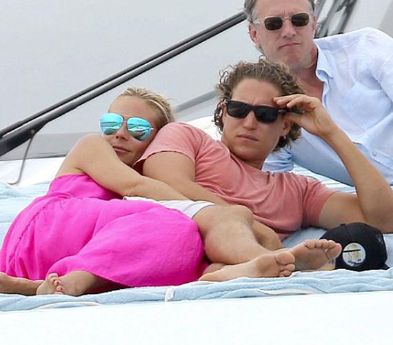 Heidi Klum és a 28 éves Vito Schnabel tavaly óta vannak együtt, a szupermodell pedig egyszerűen imádja fiatal kedvesét.