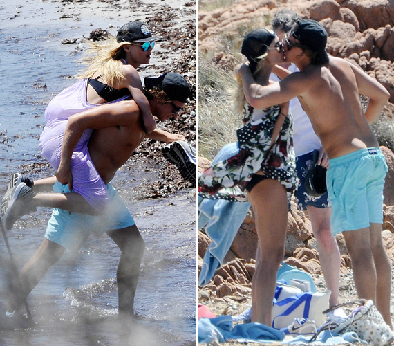 Vito nem a tenyerén, sokkal inkább a hátán hordozza híres és gyönyörű szerelmét, ha pedig ez még nem volna elég, csókokkal is elhalmozza.