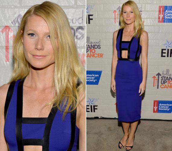 Gwyneth Paltrow merészen szabott ruhája leginkább azt emelte ki, mennyire lefogyott a színésznő.