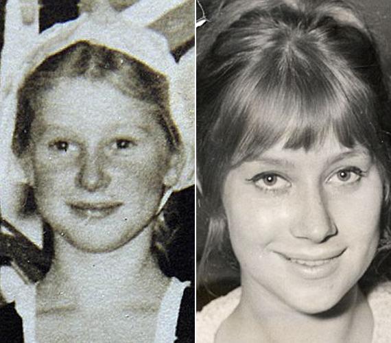 Helen Mirren színésznői pályafutása a hatvanas évek második felében indult, egyik első szerepét az Age of Consent című filmben játszotta 1969-ben, 24 évesen. Az itt látható két kép még jóval ezelőtt készült, az elsőn kilencéves, a másodikon pedig 19.