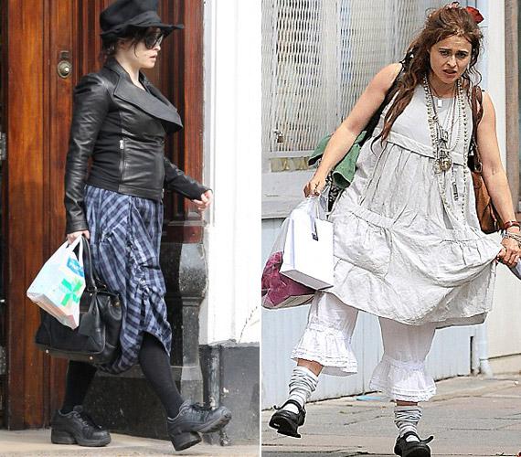 Utcai ruháit furcsán válogatja össze, sokszor olyan, mintha aktuális jelmezét felejtené magán.