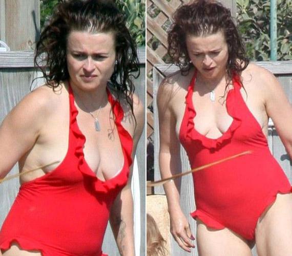 Bikiniben sem a legdögösebb látvány.