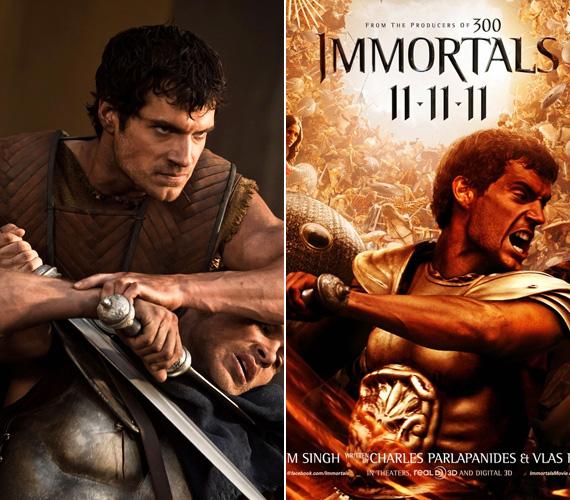 A tengerentúlon már megvolt a film bemutatója, hazánkban - a hírek szerint - december 8-án lesz az Immortals premierje.