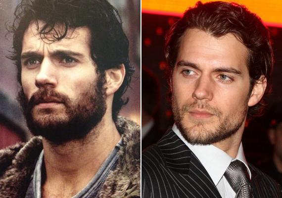 A szakáll is jól áll a színésznek. Lehet fazonírozott borosta vagy ősemberhez méltó szőrbozót az arcán, mi mindenhogy imádjuk Henry Cavillt!