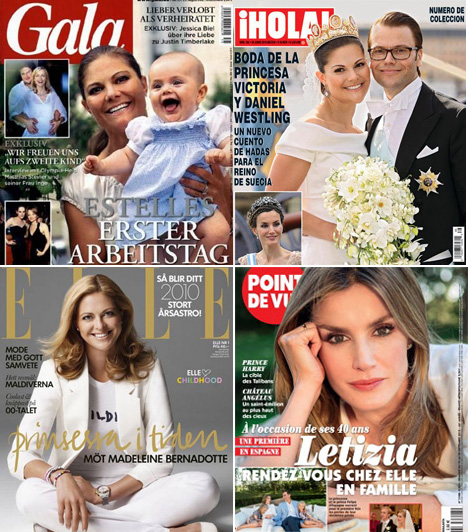 Viktória és Magdolna, Letícia                         Viktória svéd hercegnőért, férjéért, és a 2012. február 23-án született Esztelláért országa határain túl is rajonganak. Bár igazi címlaplány nem volt, a Gala első oldalán gyakran szerepel. Vele ellentétben húga, Magdolna már volt Elle-címlaplány. Nem maradhat ki Letícia hercegné sem, Fülöp spanyol trónörökös gyönyörű felesége sem.                         Kapcsolódó cikk:                         Ismét gyönyörű csipkeruhába bújt! A hercegnő nem takargatta csodás alakját »