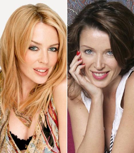 Kylie Minogue és Dannii Minogue  A 43 éves ausztrál énekesnő-színésznő, Kylie Minogue 3 évvel fiatalabb húga, Dannii is követte nővérét a színészi és énekesi pályán, sőt, mindketten modellkednek is.  Kapcsolódó cikk: Rég volt ilyen dögös! Kylie Minogue átlátszóban lépett a vörös szőnyegre »