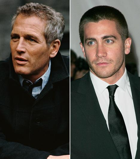 Paul Newman és Jake GyllenhaalBár nem vérrokonok, talán kevesen tudják, hogy a 2008-ban elhunyt Paul Newman volt Jake Gyllenhaal keresztapja, aki állítólag biciklizni is megtanította. Talán ez az élmény is hozzásegítette, hogy belőle is színész váljon. A Túl a barátságon című drámában nyújtott alakításáért Oscarra jelölték.