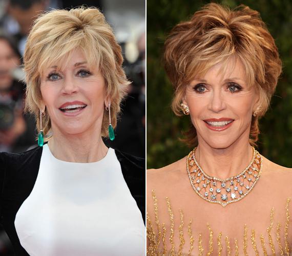 Jane Fonda 34 évesen nyerte el a díjat, amit a dolgozószobájában, az asztalon tart, hogy vigyázza minden mozdulatát.