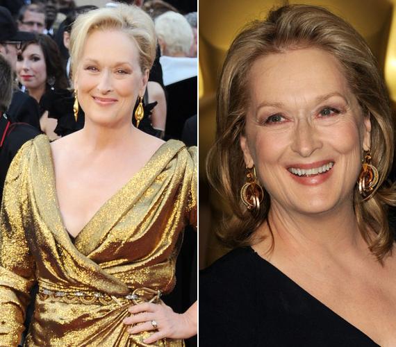 Meryl Streep a mellékhelyiségben tartja mindhárom szobrot. Mint mondta, azért, mert így a vendégei a tükör előtt eljátszhatják, milyen lett volna, ha ők nyerik.