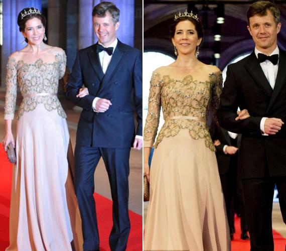 A szépségéről is híres Mária dán koronahercegnő most is mindenkit lenyűgözött egyszerű eleganciájával.