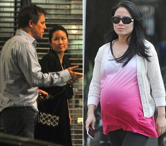 Íme, Tinglan Hong, a nő, aki 2011-ben életet adott a színész első gyermekének, Tabithának, akinek kínai neve, a Xiao Xi annyit tesz: örömteli meglepetés. Ebből már sejthető, hogy a recepciósként dolgozó Tinglan és Hugh nem tervezték a babát.