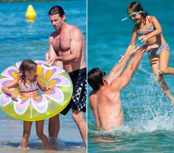 Az ausztrál szívtipró híresen családcentrikus, gyakran látni gyerkőceivel, iskolába viszi őket, sokat strandolnak vagy bicikliznek együtt.