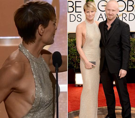 Sean Penn exe,Robin Wright az idei Golden Globe-gálán villantott.